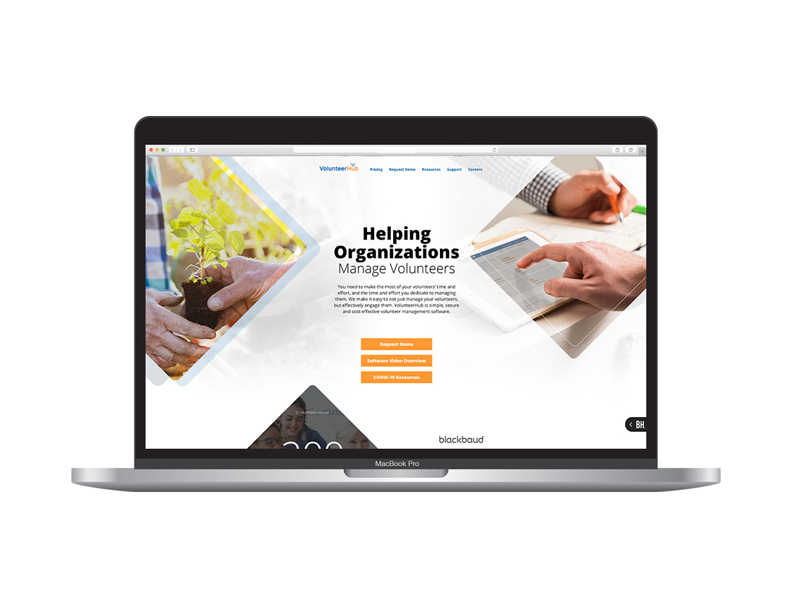 LMG Portfolio_Volunteer Hub_Website and Logo_3